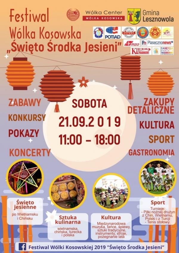 Święto Środka Jesieni - Festiwal