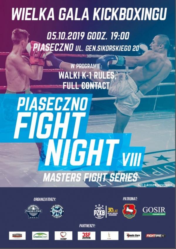 Gala Kickboxingu Piaseczno Fight Night VIII 2019