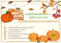 Bieg po Dynię i Święto Dyni w Lesznowoli