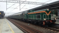 Nostalgiczny Pociąg Specjalny w Piasecznie