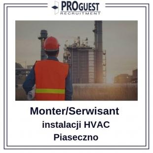 Monter/Serwisant Instalacji - branża HVAC