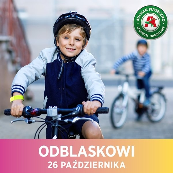 Dzieci zaświecą przykładem na drogach! – kampania edukacyjna w Centrum Handlowym Auchan Piaseczno