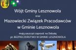 Bezpieczeństwo w Gminie Lesznowola - Debata