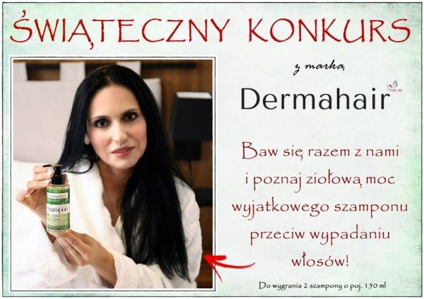 Świąteczny konkurs z marką Dermahair