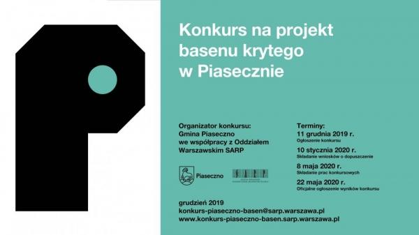 Konkurs Architektoniczny na projekt BASENU KRYTEGO W PIASECZNIE