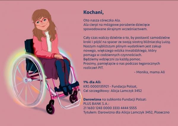 Nowy wózek dla Alicji – akcja