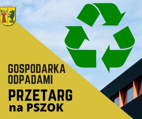 Gmina Lesznowola - PSZOK - uwaga zmiany