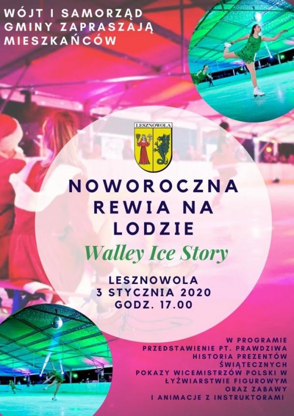 W Nowy Rok na łyżwach w Lesznowoli