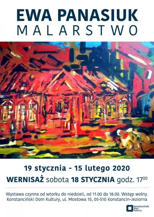 Wystawa Malarstwa Ewy Panasiuk w KDK