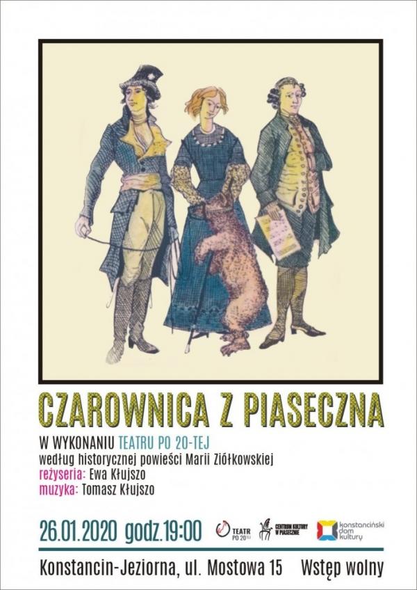 Czarownica z Piaseczna w Hugonówce