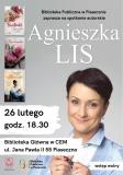 Spotkanie autorskie z Agnieszką Lis