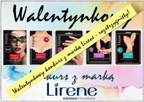 Konkurs walentynkowy z marką Lirene - rozstrzygnięty