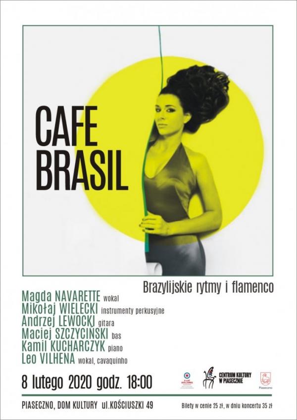 Cafe Brasil – brazylijskie rytmy i flamenco w Domu Kultury