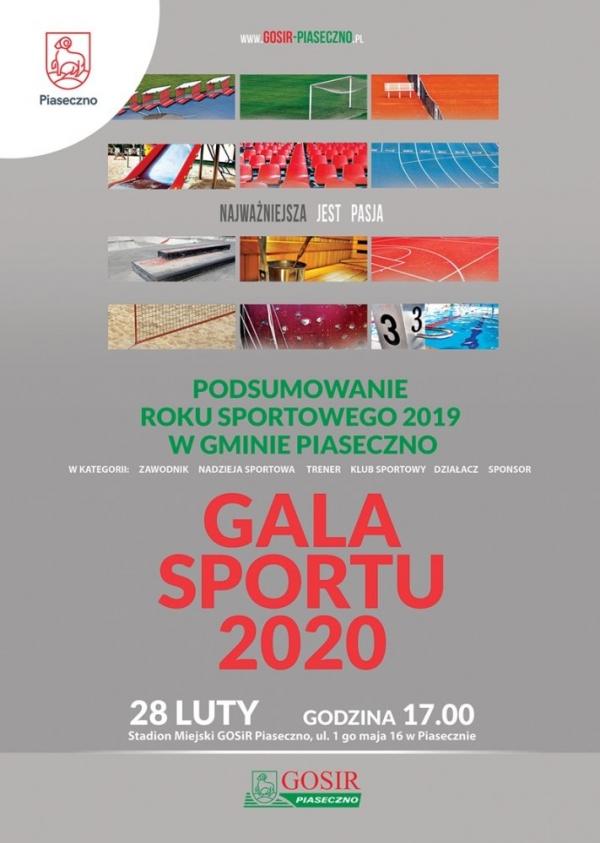 Gala Sportu 2020 Piaseczno