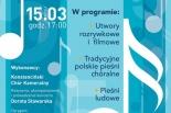 5-lecie Konstancińskiego Chóru Kameralnego - odwołane