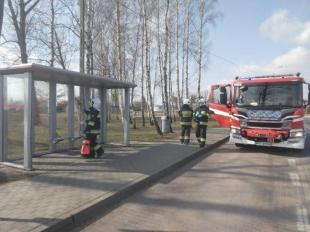Odkażanie przystanków w gminie Lesznowola