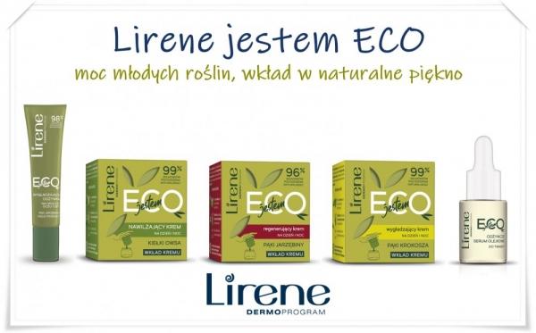 Lirene Jestem ECO – moc młodych roślin, wkład w naturalne piękno
