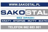 Kraty pomostowe Mostostal, stopnie schodowe na wymiar Piaseczno