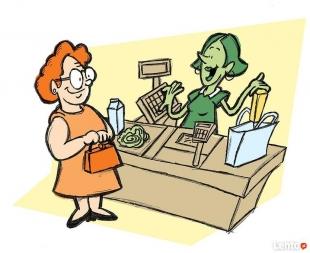 Ekspedientka do sklepu spożywczego