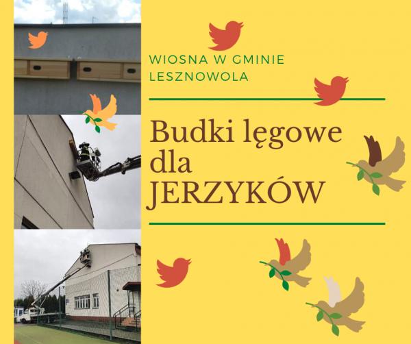Gmina Lesznowola zaprasza Jerzyki