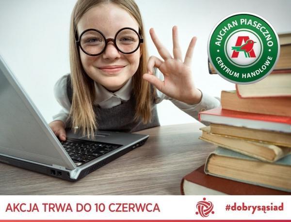 Podaruj laptop potrzebującym dzieciom w ramach akcji #dobrysąsiad