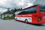 Zbiórka krwi przy Krzyżu Papieskim w Piasecznie