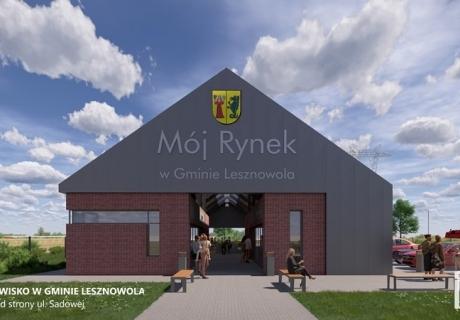 """Targowisko """"Mój Rynek"""" w Lesznowoli"""