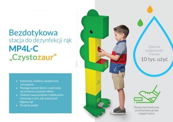 Czystozaury na placach zabaw
