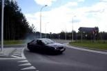 Zatrzymane prawo jazdy i wniosek do sądu za ,,drift'' w Piasecznie