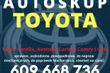 Autoskup Toyota, skup samochodów używanych, odkup aut, auto skup, skup Toyot Yaris, Corolla, Carina, Hilux, Hiace, Picnic, Matrix i inne