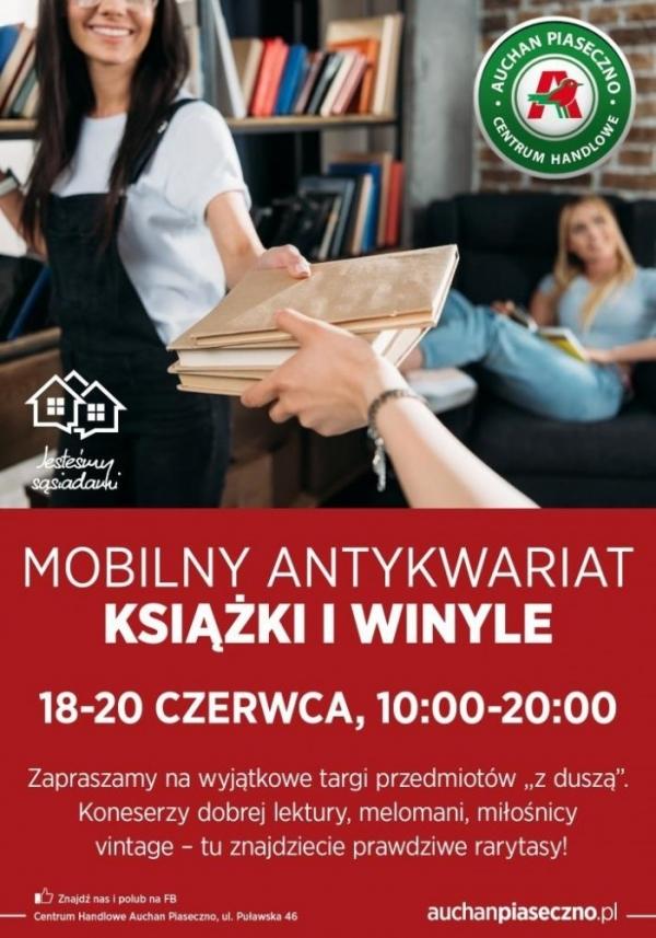 Odkryj vintage w antykwariacie i przekaż rower dzieciakom – dwie sąsiedzkie akcje w Piasecznie