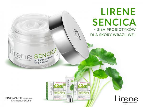 Lirene SENCICA – siła probiotyków dla skóry wrażliwej