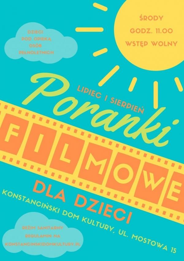 Poranki filmowe w Hugonówce