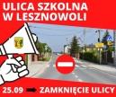 Utrudnienia w ruchu-remont ul. Szkolnej