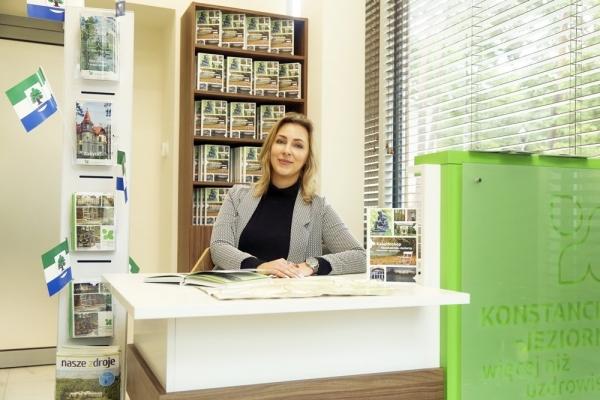 Punkt Informacji Turystycznej w Konstancinie-Jeziornie