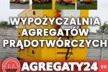 Wypożyczalnia, wynajem agregatów prądotwórczych Mazowieckie Piaseczno