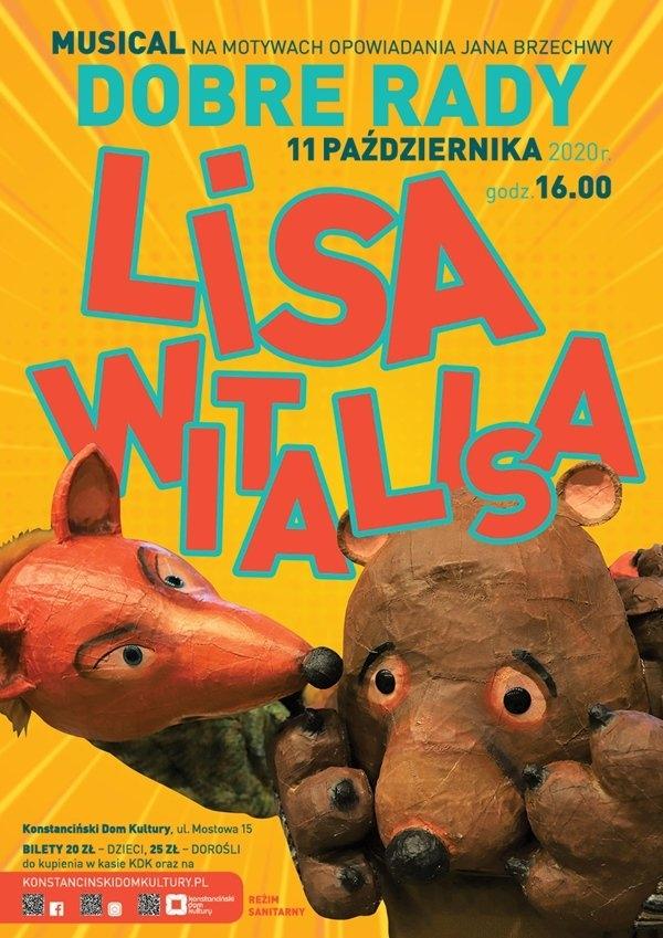 Bajkowa Hugonówka - Dobre Rady Lisa Witalisa