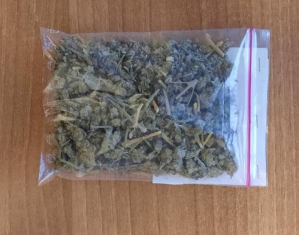 Zatrzymano 26- latka, zabezpieczono 32 gramy marihuany