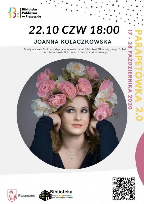 Spotkanie z Joanną Kołaczkowską- Parapetówka 2.0