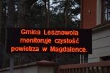 System monitoringu jakości powietrza w gminie Lesznowola