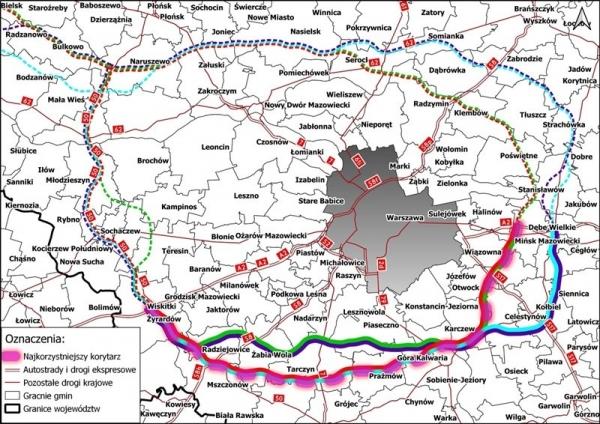 Obwodnica Aglomeracji Warszawskiej - spotkanie z GDDKiA