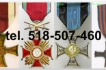 Kupie stare ordery, medale, odznaki,odznaczenia