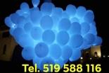 balony ledowe z helem na balony ledowe na wesele