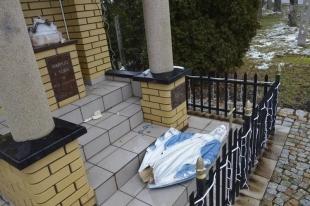 Zatrzymano sprawców dewastacji kapliczki