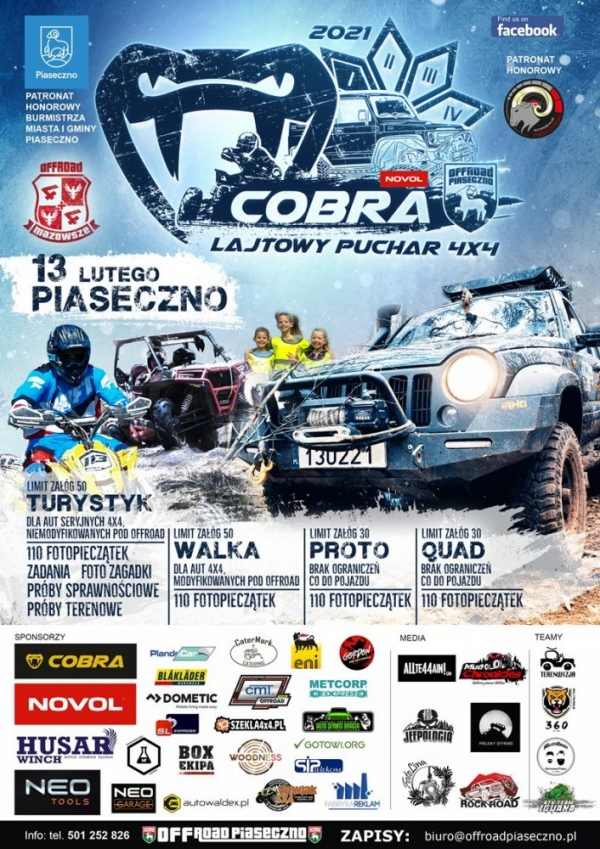 Cobra Lajtowy Puchar 4×4 edycja 1 sezon 2021
