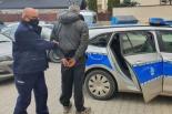 Huba doprowadził do zatrzymania nietrzeźwego sprawcy kolizji