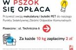 Skup makulatury i butelek PET w PSZOK Piaseczno