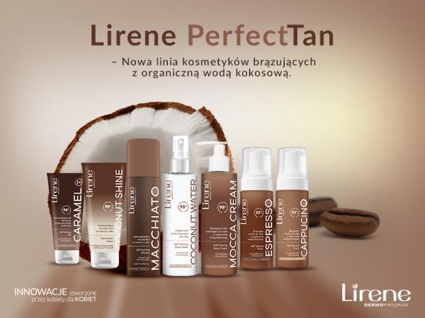 Lirene #perfectTan – nowa linia kosmetyków brązujących z organiczną wodą kokosową
