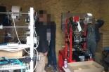 Trzech mężczyzn zatrzymano w nielegalnej wytwórni papierosów