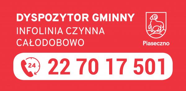Zgłoszenia 24h – całodobowa infolinia gminnego centrum dyspozytorskiego w Piasecznie